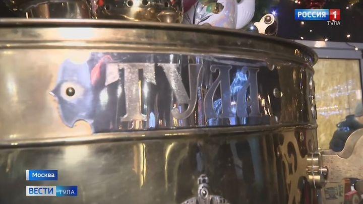 В Алабино установили 300-литровый самовар с тульским чаем