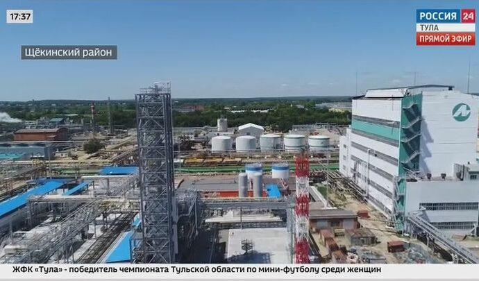 Новые химические производства появятся на площадке компании «Щёкиноазот»