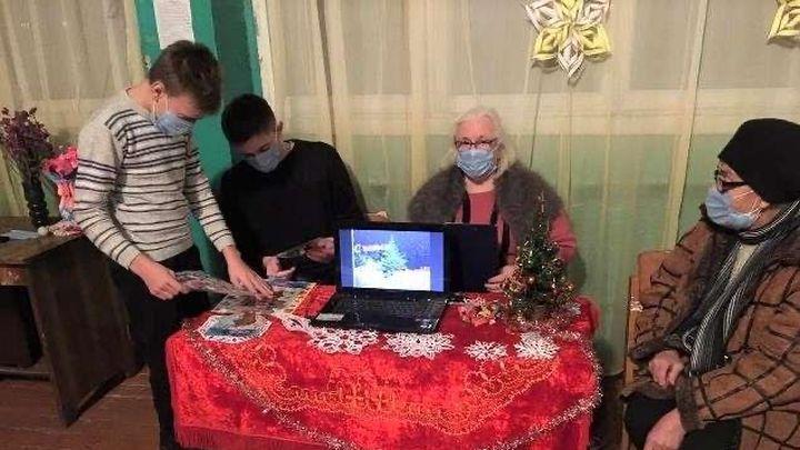 Ефремовских селян отправили в виртуальный новогодний круиз