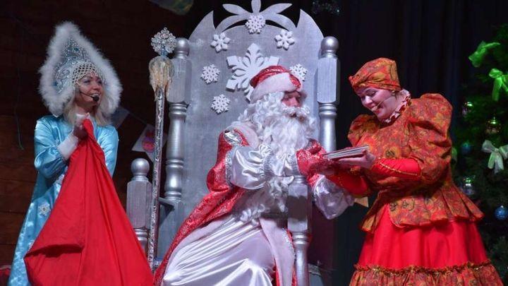 Щёкинских малышей отправили в «Новогоднюю фантазию»