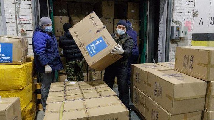 Новые средства защиты для медиков поступили в регион