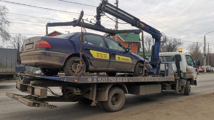 Тульские таксисты за неделю допустили около 500 нарушений
