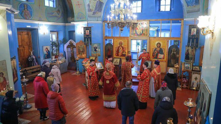 В посёлке Волово почтили память святого Гурия
