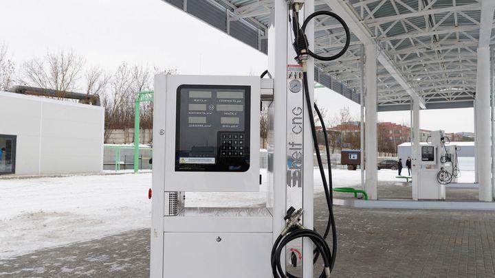 В Туле построили первую метановую заправку по госпрограмме