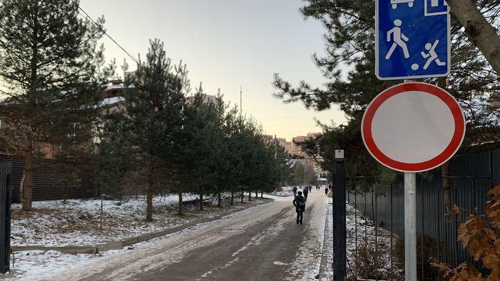 Родители тульских школьников добились установки знака «Проезд запрещён»