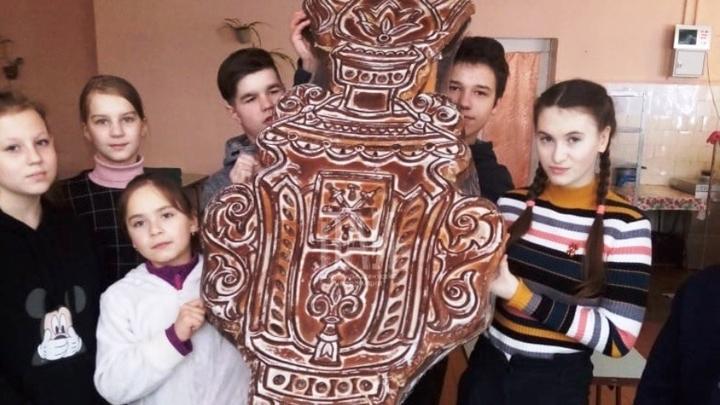 Туляки удивили псковских школьников