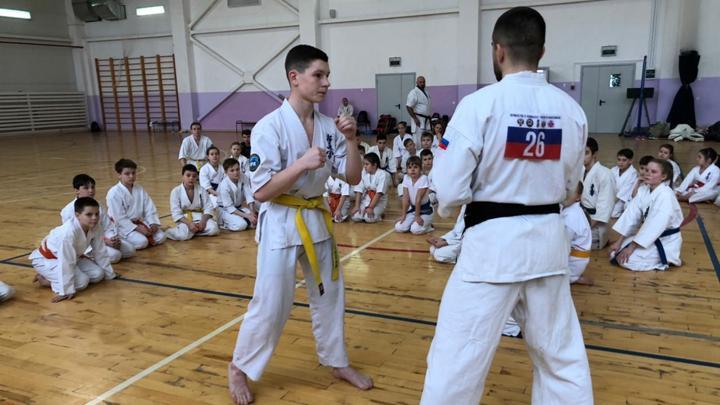 Тульские каратисты приняли участие в мастер-классе от чемпиона мира