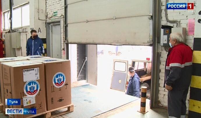 Тульским медикам передали оборудование для хранения «Спутник V»
