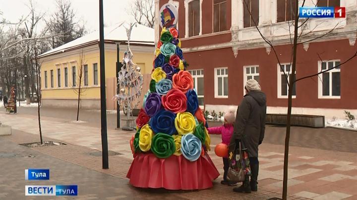 В Туле определили победителей конкурса креативных елок