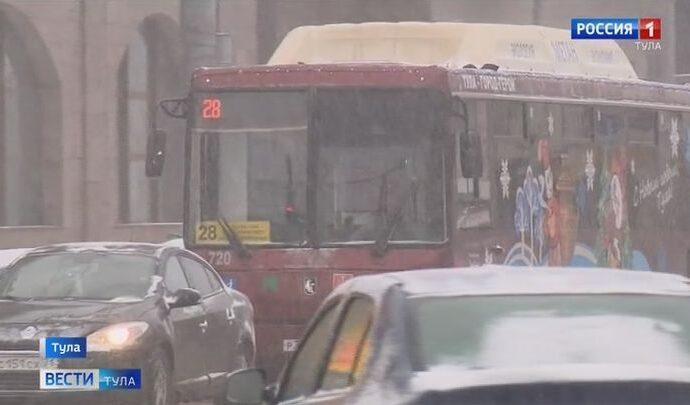 В Туле появились фантомные автобусы