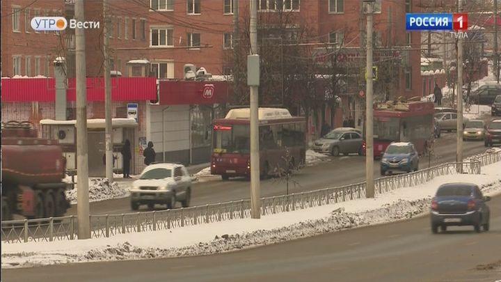 В Туле изменилась схема движения автобуса №5