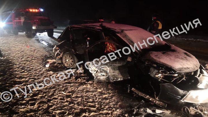 На автодороге «Тула-Новомосковск» в ДТП погибли два человека