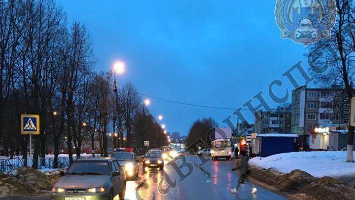 Жительница Новомосковска с пешеходного перехода попала в больницу