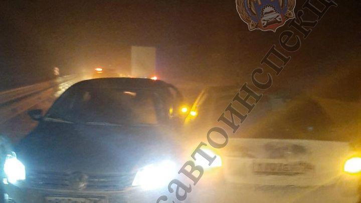 В Воловском районе участника ДТП сбила машина