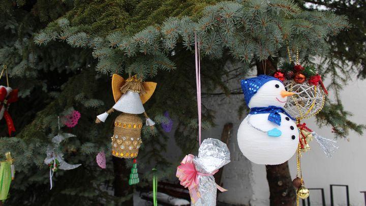 В Новомосковске вспомнили Новый год