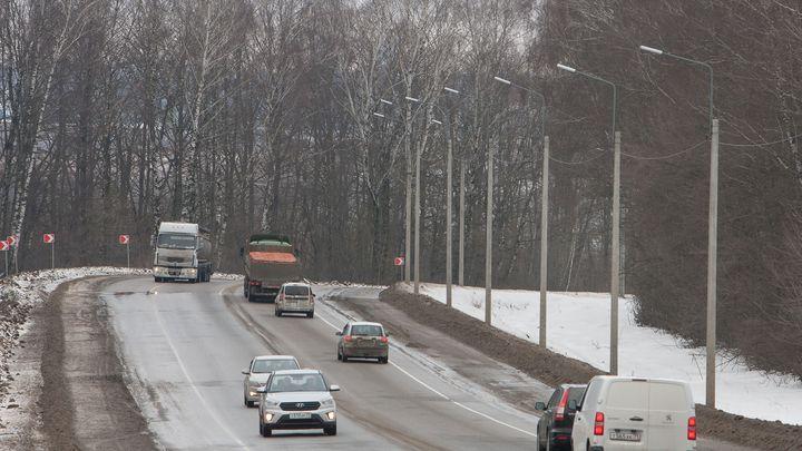 Путь от Тулы до Новомосковска стал светлее
