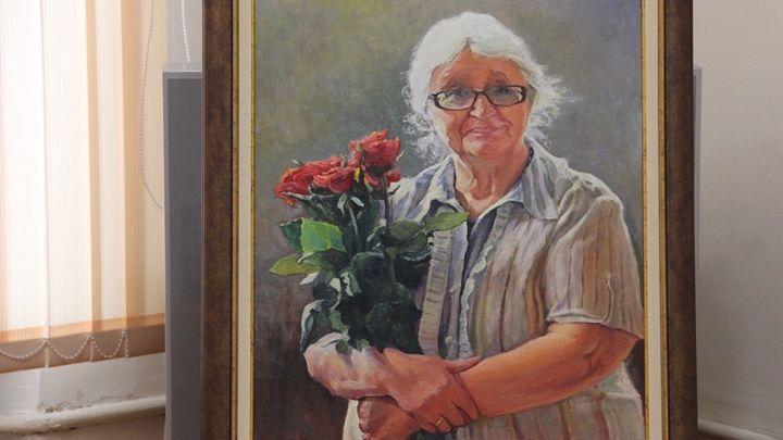 В Алексине выставку посвятили памяти Наталии Грамолиной