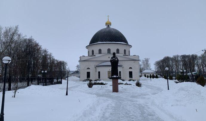 В ефремовском селе Пожилино восстанавливают храм Димитрия Солунского