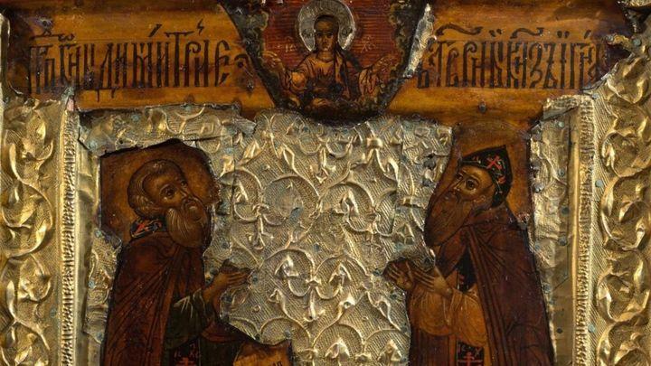 В Историческом музее в Туле выставлена уникальная икона