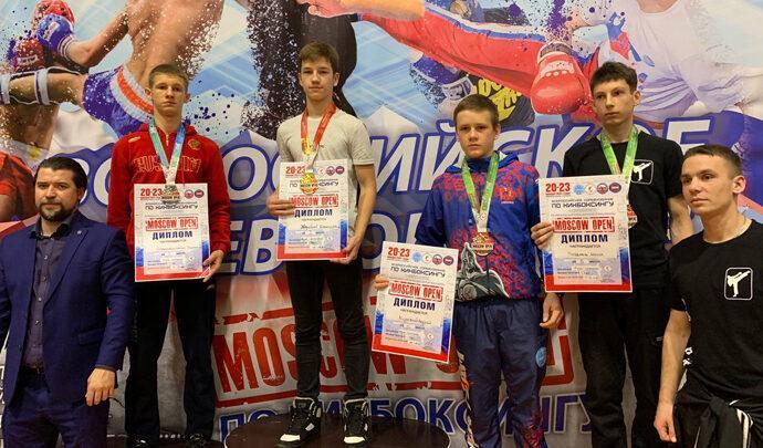 Тульские кикбоксёры завоевали шесть медалей на «Moscow Open»