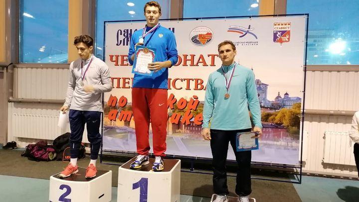 Тульские легкоатлеты завоевали шесть медалей на старте чемпионата ЦФО