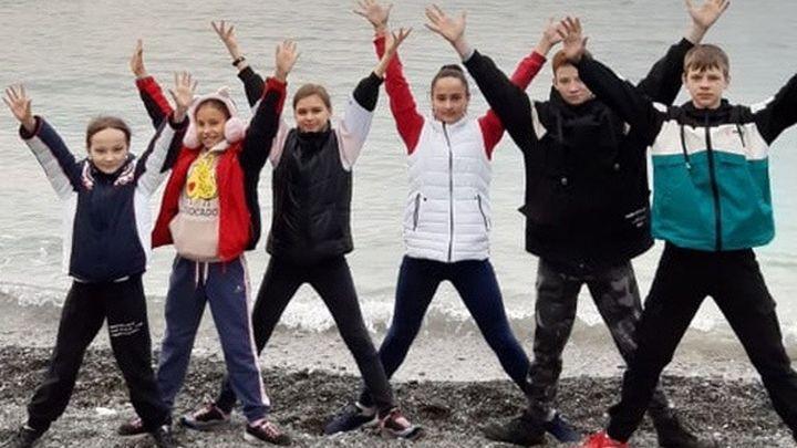 Юные новомосковские спортсмены провели сборы в Сочи