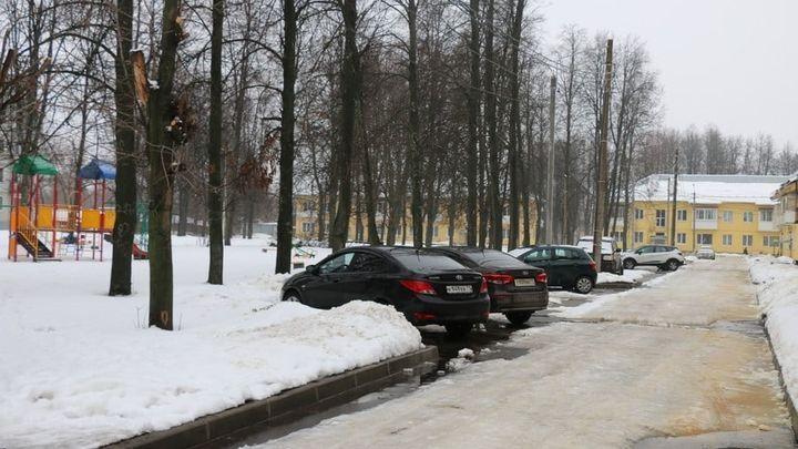 В Новомосковске подсчитали дворы, которые благоустроили за год