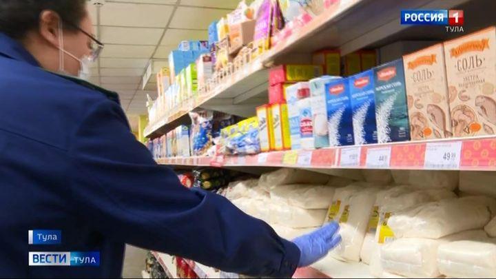 Тульские прокуроры пытаются сдержать цены в магазинах