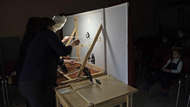 Театр теней Тульского художественного музея оживил рождественскую историю