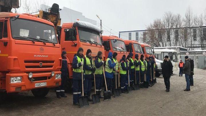 Для уборки снега в Туле выделена дополнительная техника