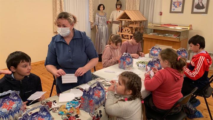 В музее села Тургенево прошли Рождественские мероприятия