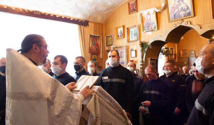 В тульских колониях заключённые отпраздновали Крещение