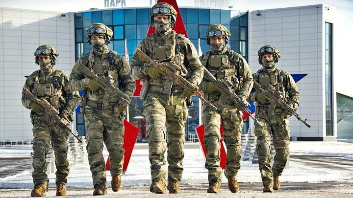 Алексей Дюмин поздравил военнослужащих и ветеранов ССО РФ с «Днём вежливых людей»