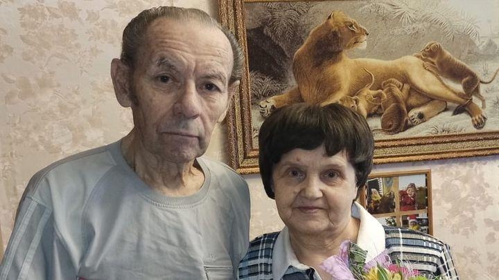 Любовь длиною в 60 лет: супруги из Донского отметили бриллиантовую свадьбу