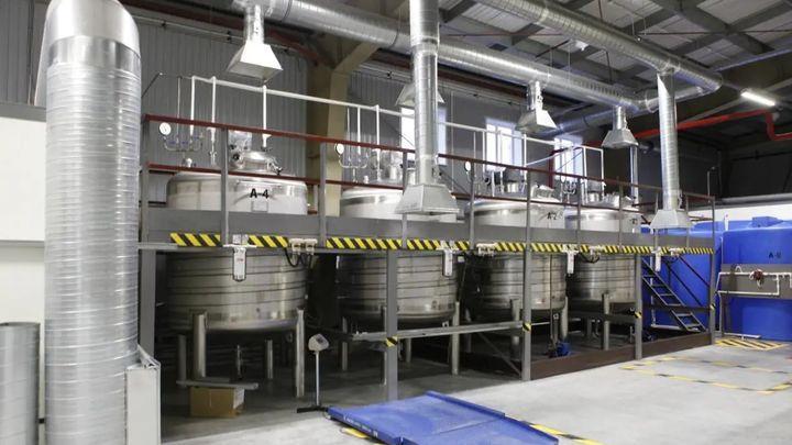В Суворове открылся завод по производству антисептиков