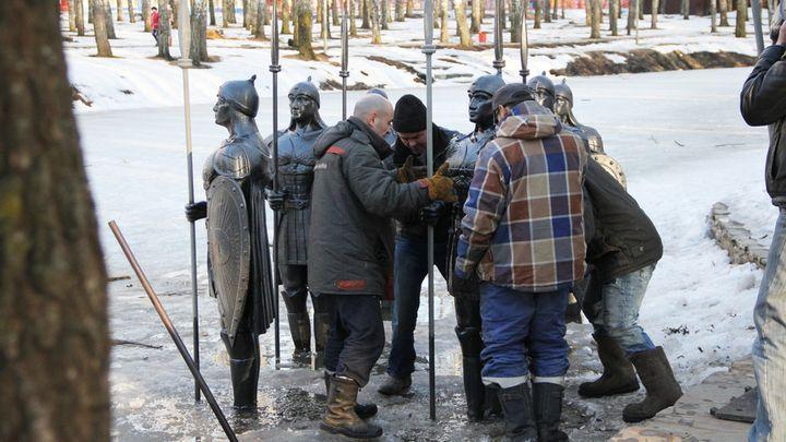 Новомосковского Черномора и его богатырей защитят от вандалов