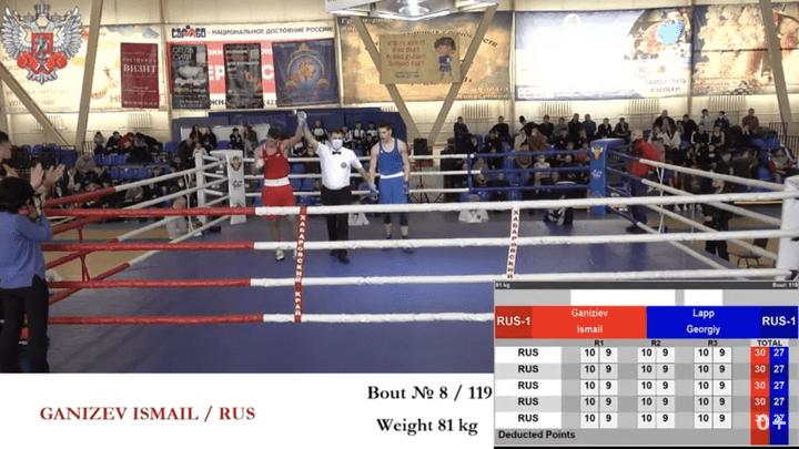 Тульский боксёр Исмаил Ганижев – победитель международного турнира в Комсомольске-на-Амуре