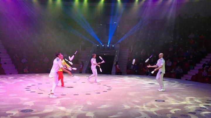 Тульский цирк дал благотворительное представление для врачей