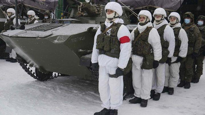В Слободке прошли тактические учения десантников