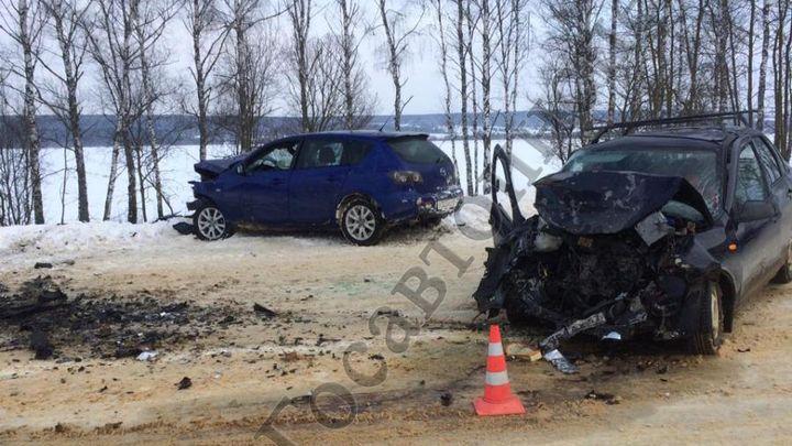 В Белёвском районе в ДТП погибла женщина