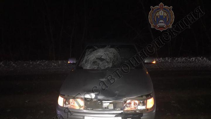 Под Новомосковском подростка сбила машина