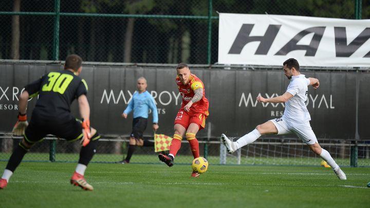 Тульский «Арсенал» на сборе в Турции разгромил 4:0 болгарскую «Монтану»