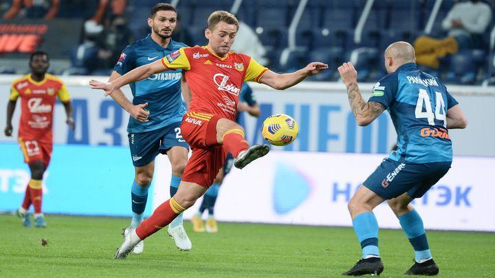 Тульский «Арсенал» победил «Зенит» и вышел в четвертьфинал Кубка России