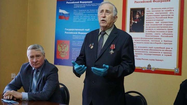 В Кимовске презентовали книгу о местной милиции