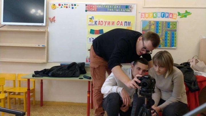 В Ясногорске учащиеся киношколы перешли к практике