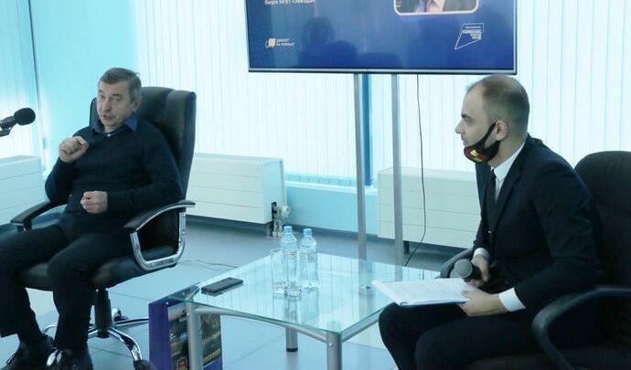 В Новомосковске состоялся космический диалог