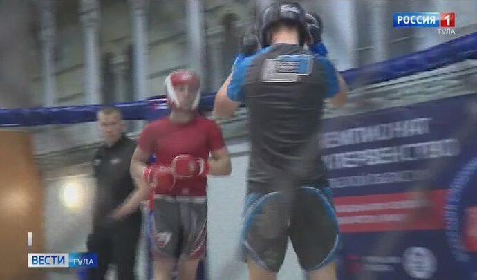 В Туле состоялся чемпионат и первенство региона по ММА