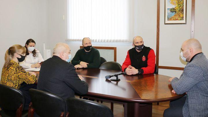 Центр единоборств в Новомосковске планируют открыть в 2021 году