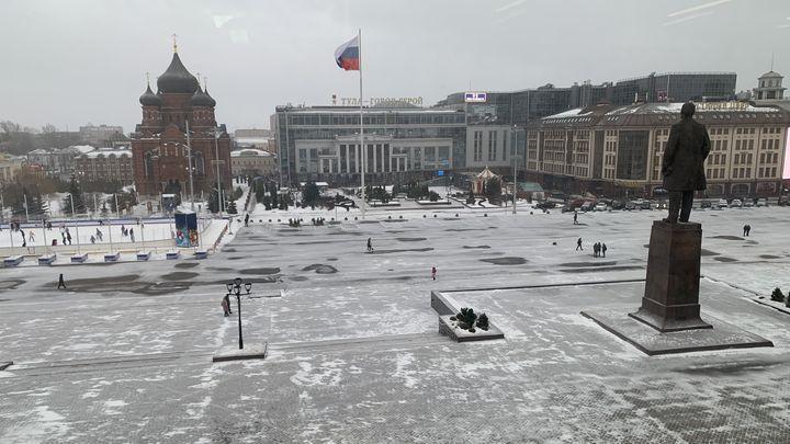 С тульских улиц круглосуточно вывозят снег