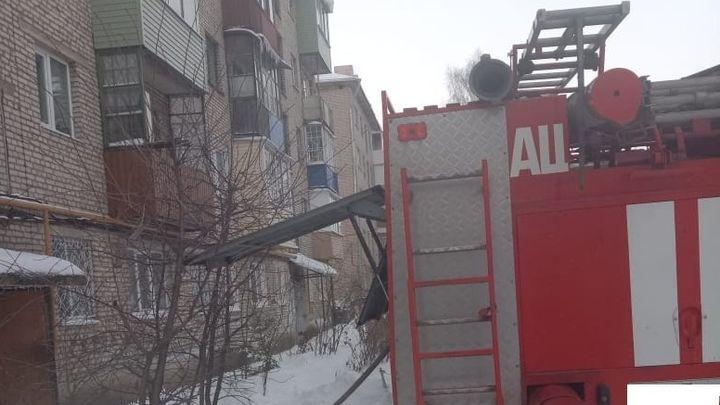 Житель Ясногорска погиб на пожаре